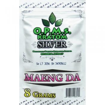 OPMS Silver Maeng Da Kratom 16 Capsules