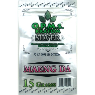 OPMS Silver Maeng Da Kratom 30 Capsules