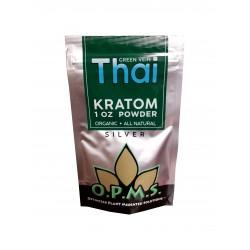 OPMS Silver Thai Kratom Powder - 1 Oz